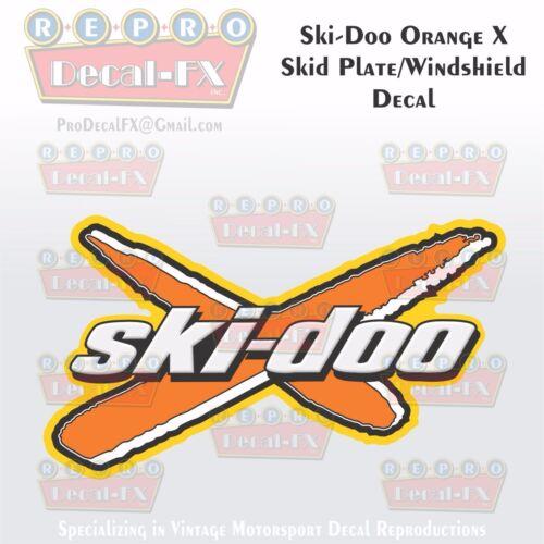 2003-08 Ski-Doo X Skid Plate//Windshield Blue Reproduction Decal HighTack Vinyl