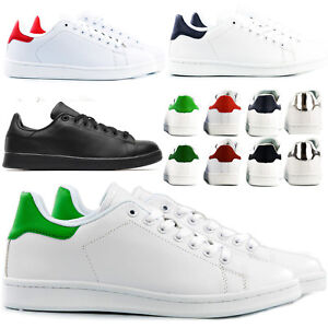 Sneakers-Men-Woman-PU-Leather-Running-Walking-type-Stan-Smith-t39