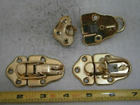 Brainerd 0857 Draw Bolt Catch 2-5/8 X 1-1/2 Steel Brass Plated Lot Of 2 5368