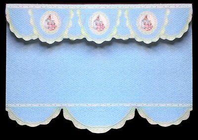 Franco Blue Peter Rabbit Cieco/tenda/drappo Per Dolls House-da Sylvia Rose No.10-mostra Il Titolo Originale Costo Moderato