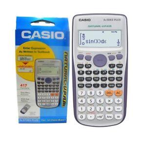 Genuine CASIO FX-570ES PLUS 417-Functions Natural Display Scientific Calculator