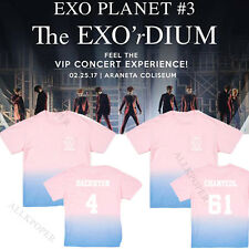 Korean POP EXO Planet #2 Concert T-shirt 2nd sehun baekhyun Unisexe T-shirts tee NEW