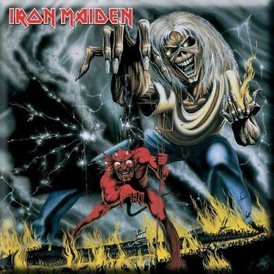 Iron Maiden Fridge Magnet Calamita Numbers Official Merchandise Delizioso Nel Gusto
