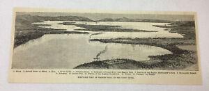 1885-magazine-engraving-BIRD-039-S-EYE-VIEW-OF-STANLEY-POOL-Congo