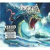 AXXIS UTOPIA Special Digipak Edition with 2 Bonus Tracks + Poster (Near Mint)