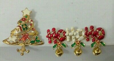 Lot of Christmas Brooches /& Ornaments