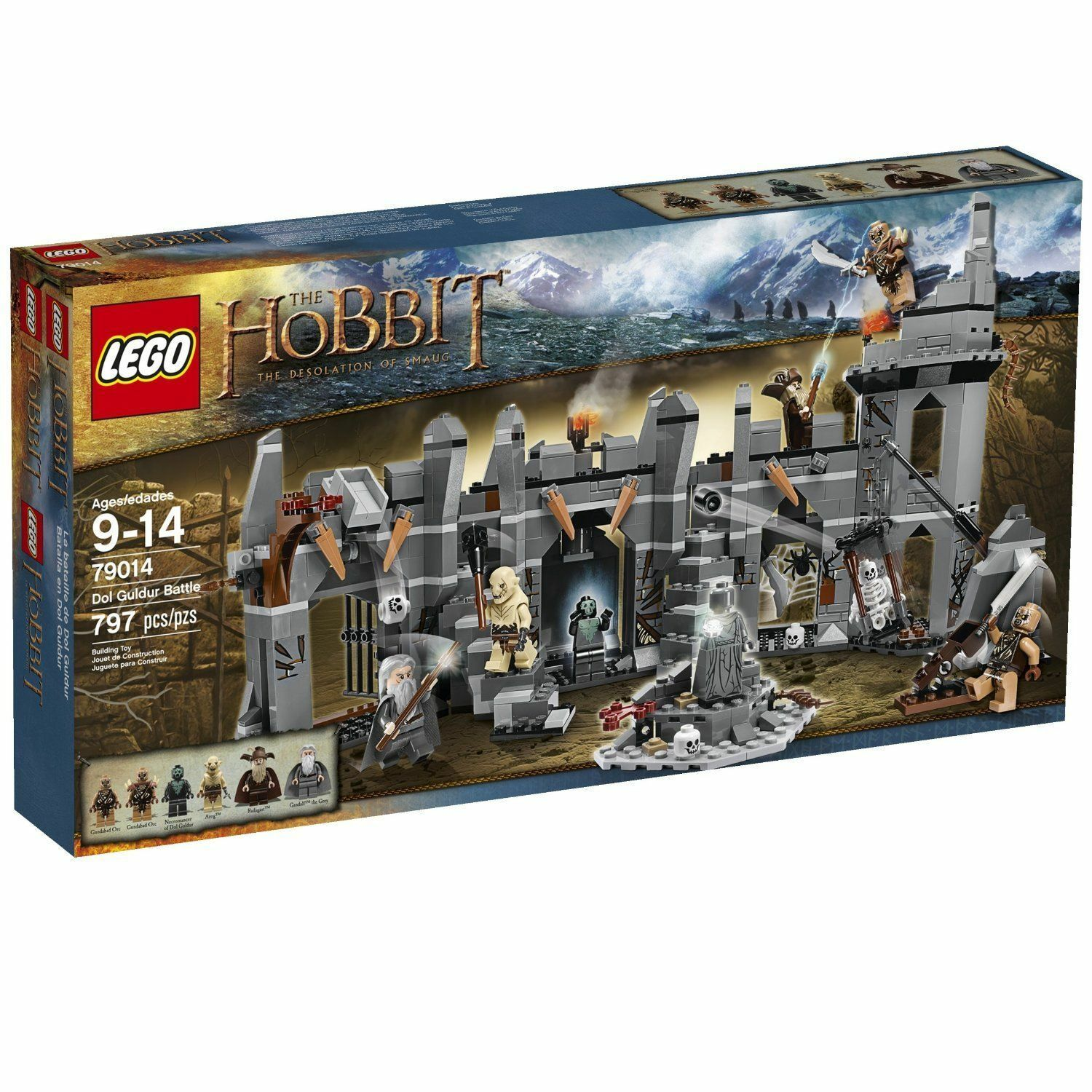 LEGO 79014 The Hobbit Dol Guldur Battle