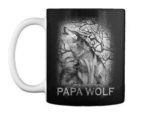 Papa-Wolf-Gift-Coffee-Mug