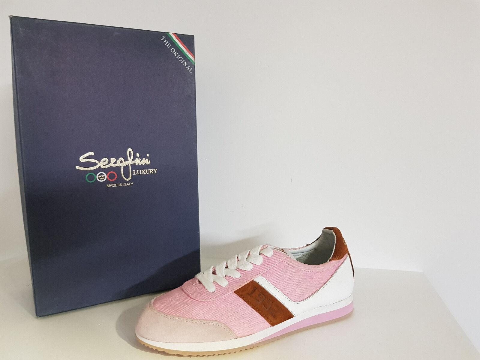 Serafini   Woman Sneakers discount. -75 % Art 1932 Luxury - Col. pink