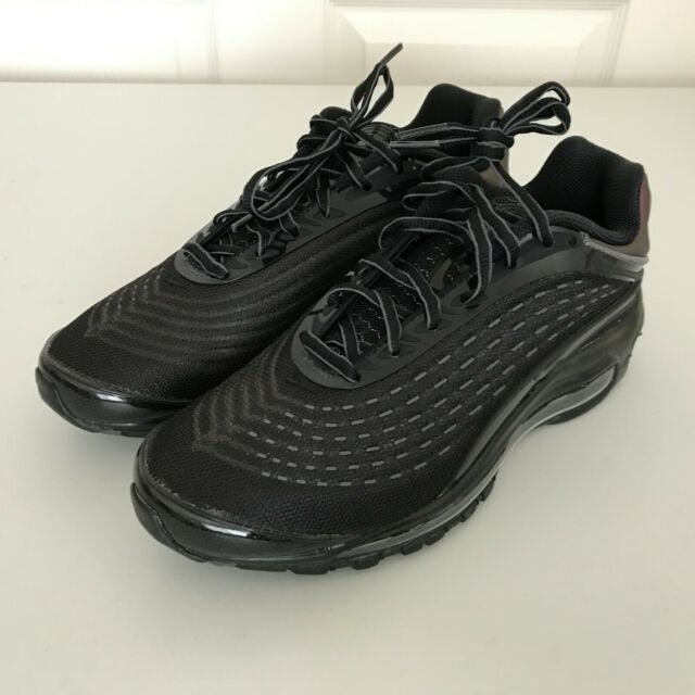 Nike Air Max Deluxe Black Bronze Metallic Running Shoes AV2589 001 Mens Size 7.5