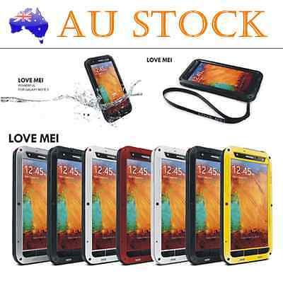 Genuine LOVE MEI Waterproof shockproof Case Cover fr Samsung Galaxy Note 3 N9000