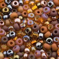 Czech Seed Beads E Beads 6//0 Metallic Pink 15g 10101022