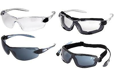 UCI Sulu™-AF Safety Spectacles Glasses Clear Lens 1,6 or 12 Pairs