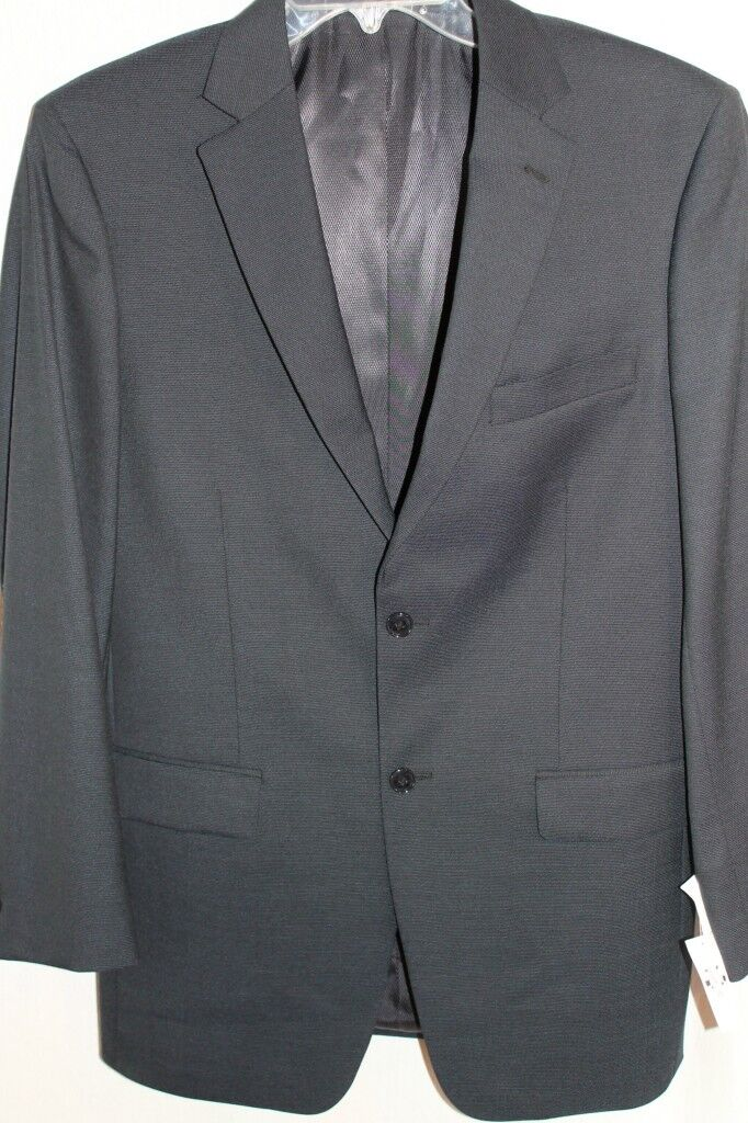 Jones New York Navy bluee Wool Blazer 40L Sport Coat NEW NWT  FREE SHIPPING