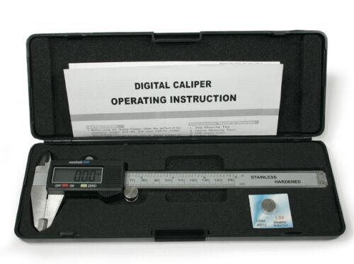 """Compas Numérique 150mm 0-6/"""" coulisse numérique"""