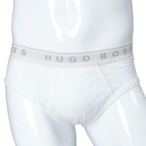 Hugo-Boss-White-Men-039-s-Briefs-Sz-M