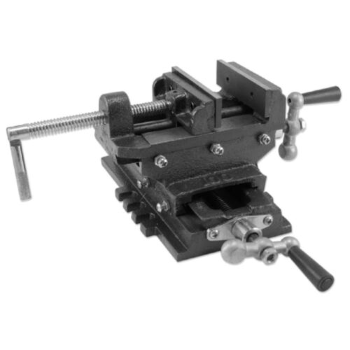 "6/"" Cross Drill Press Vise Slide Metal Milling 2 Way X-Y Clamp Machine Heavy Duty"