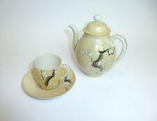 set de té Jarra Porcelana cáscara huevo Japón Meiji para 1900 vajilla té B-4780