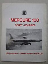 1/1974 PUB AVIONS MARCEL DASSAULT MERCURE 100 / AIR INDIA BOEING 747 FRET AD