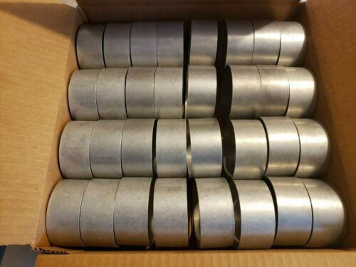 Pastry or Baking molds 3 x 1 1//2 inch rings lot of 32