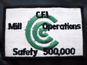 C-F-I-MILL-OPERATIONS-SAFETY-500-000-EMBROIDERED-PATCH-4-1-4-034-x-2-3-4-034-rectangle
