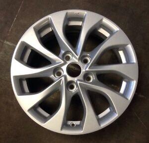 Nissan Sentra 2017 97835 aluminum OEM wheel rim 16 x 6.5 ...
