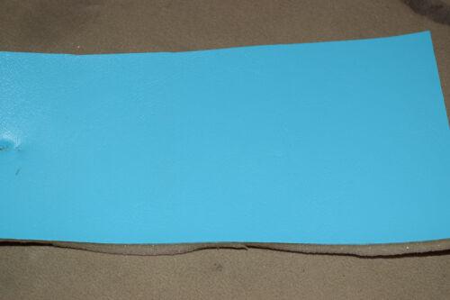 Formula-Maxim Seabrook Turquoise marine vinyl foam back