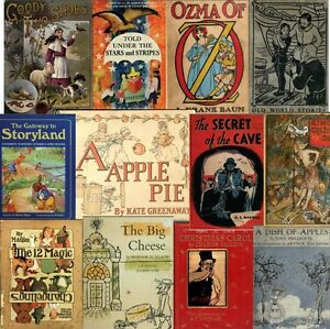 390-Vintage-old-CHILDREN-STORY-PICTURE-books-1800-039-s-1900-039-s-pdf-on-DVD-Vol-3