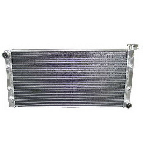 Fans For Datsun 510 SR20DET Engine Swap Manual Transmission Aluminum Radiator