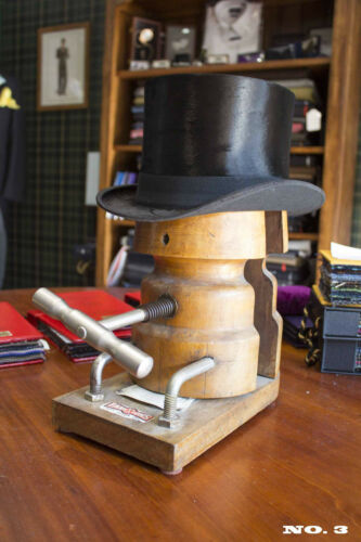 Antique Top Hat Size 6 78