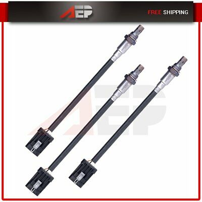 3pcs Upstream/&Downstream O2 Oxygen Sensor for 96-01 Chevrolet Blazer 4.3L V6