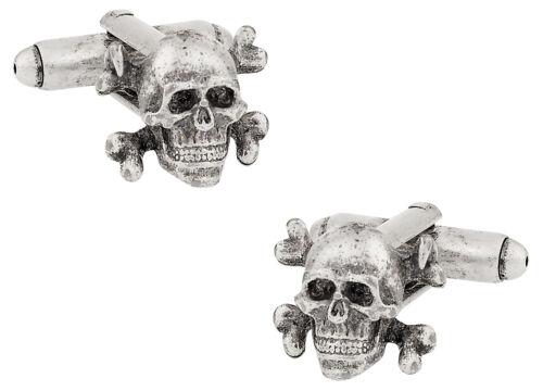 Skull /& Crossbone Cufflinks Direct from Cuff-Daddy