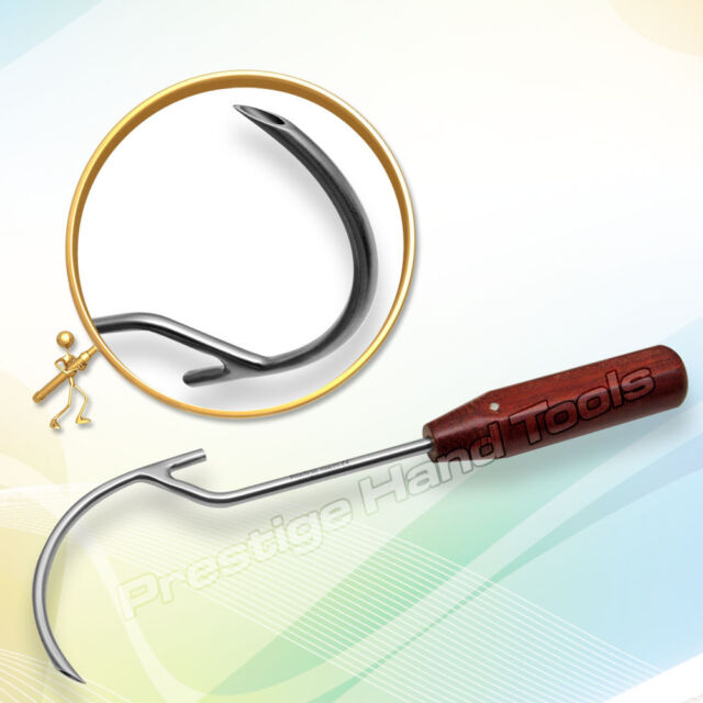 Wire Passer Guide orthopedic Veterinary surgery with fibre handle 45mm Or 70mm