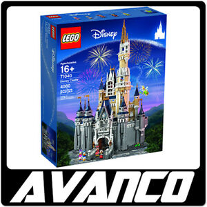 LEGO-Disney-Castle-71040-Mickey-Minnie-Donald-Daisy-Tinker-Bell-Train-NEW-SEALED