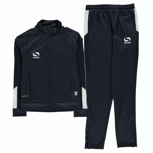 Sondico Strike Tracksuit Infants Boys Full Length Sleeve Lightweight Zip Zipped
