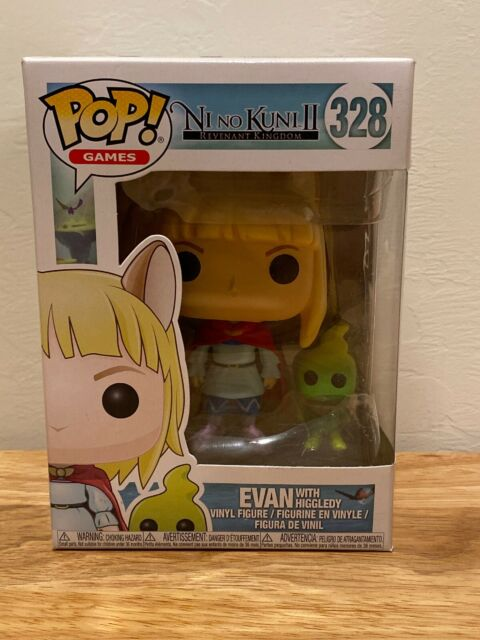 Funko 27017 Pop Games Ni No Kuni II Tani With Higgledy