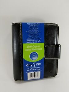 Franklin-Covey-Simulated-Leather-Weekly-Planner-Organizer-Compact-Size-Day-One