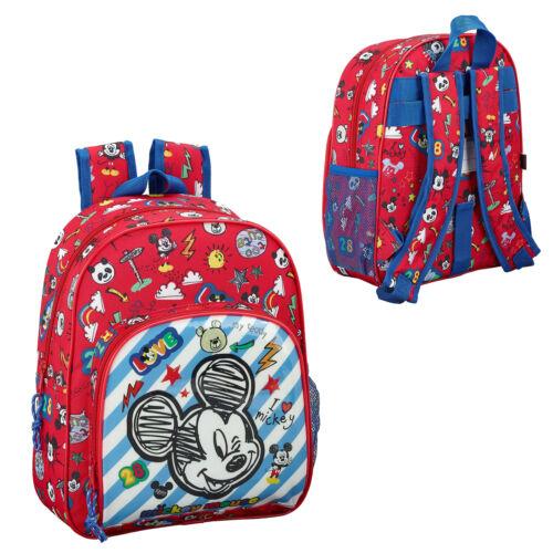 Mickey Mouse Sac à Dos Enfant Voyage Sac D/'école Sac à dos Disney sac à Lunch Maker