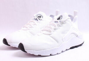 e120944691a00 Nike W Air Huarache Run Ultra   819151 102 White   Black Women SZ 6 ...