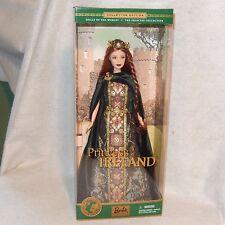 2001 Collector Edition Princess of Ireland BARBIE Dolls Of The World NRFB MIB