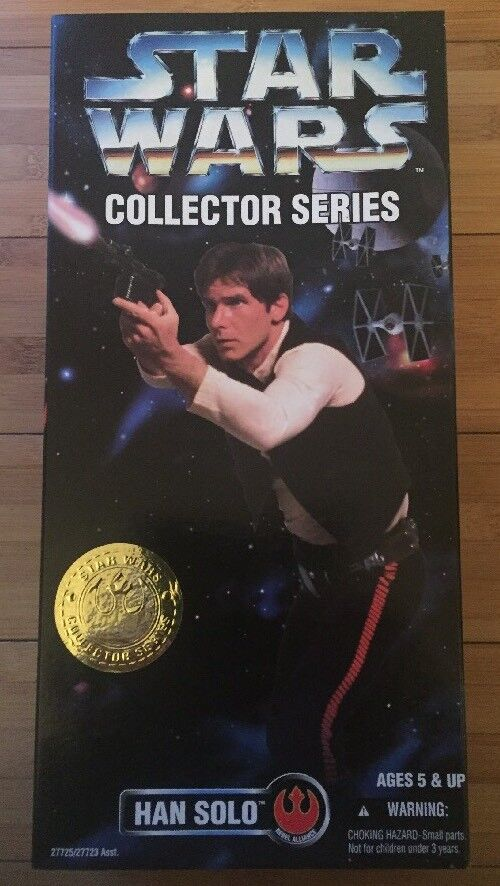 Hasbro - star - wars - sammler  han solo 12  action - figur jahrgang 1996