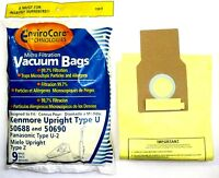 Kenmore Upright 50688 And 50690, Panasonic Type U 2 And Miele Upright Type Z Vacuum Bags Microfiltration With Closure 18 Bags Vacuum Cleaner Accessories