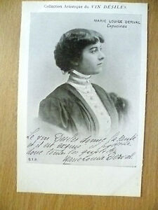 POSTCARDS-of-THEATRE-amp-OPERA-STARS-MARIE-LOUIS-DERVAL-CAPUCINES