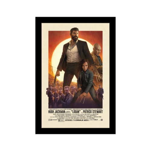 WOLVERINE LOGAN 11x17 Framed Movie Poster by Wallspace