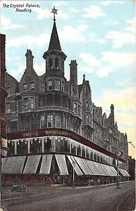 POSTCARD-BERKSHIRE-READING-The-Crystal-Palace