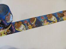 """BTY 1/"""" Disney Cogsworth Lumiere Beauty Beast Grosgrain Ribbon Lisa"""