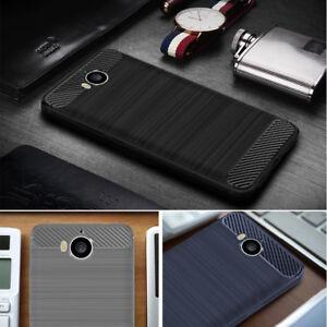 Dettagli su Per Huawei NOVA Young/Mya-L41 Mya-L11 L41 L11 MYA MYA in fibra di carbonio custodia cover- mostra il titolo originale
