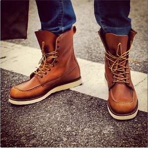 Red Wing Heritage 8 Inch Classic Moc Toe 00877d Oro Legacy