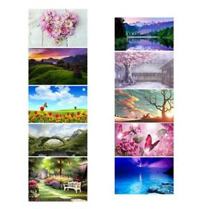 5D DIY Special-shaped Drills Diamond Painting Cross Stitch Embroidery Decor #BU