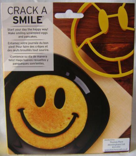 Nouveau Sourire Visage Heureux en Forme d/'Oeuf Anneau forme Omelette oeufs frits Moule Funnyside
